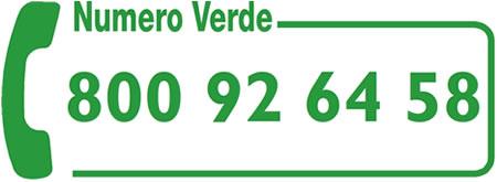 Chiama il numero 800.926458